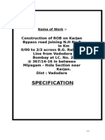 Specifications Karjan