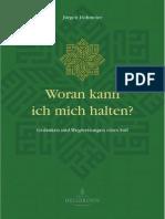 Woran kann ich mich halten von Jürgen Hohmeier- Leseprobe