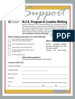 Giving Form for MFA Program In_creative Writing