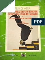 Historia de Un Idiota Contada p - Felix de Azua Copia