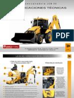 A&R Brochure Retroexcavadora JCB 3C