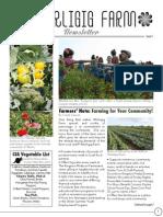 August Whirligig Newsletter