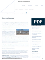 Spinning Reserve _ Energy Storage Association