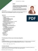 Transformation de Fourier — Wikipédia