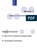 Lecture Session 9_Forecasting Exchange Rates
