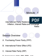 Lecture Class_4_International Parity Relationships