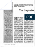 1989 Issue 6 - The Inspiration of the Scriptures - Counsel of Chalcedon