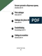 Автомобили Lada 1118. Каталог Деталей и Сборочных Единиц. На Русском, Английском, Французском, Немецком и Испанских Языках.