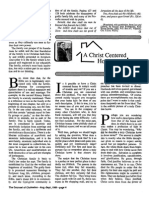 1989 Issue 7 - A Christ Centered Home - Counsel of Chalcedon