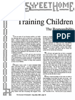 1989 Issue 7 - Training Children in Godliness - Counsel of Chalcedon