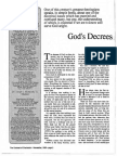 1989 Issue 9 - God's Decrees and Man's Freedom - Counsel of Chalcedon