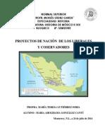 PROYECTOS DE NACIÓN  DE LOS LIBERALES Y COSERVADORES.docx