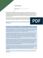 Artículos de Opinión La Privatización de La Seguridad Pública