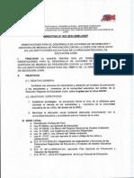 Directiva 27-2013-Drej-dgp Orientaciones Para El Desarrollo de Informacion y Adopcion de Medidas de Prevencion Contra La Gripe Por Virus Ah1n1