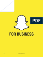 Snapchat business deck
