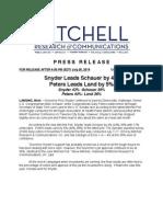 MI-Gov/MI-Sen Mitchell Research for MAHP (July 2014)