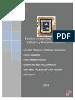 Tarea Academica de Macroeconomia - Cesar Rodriguez Cruz