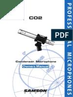 Guia Tecnica Microfono Samsom c02