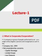 Corporate Env. Mgt.