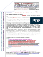 20140802-G. H. Schorel-Hlavka O.W.B. to Submissions to the Financial System Inquiry-SUPPLEMENT 2