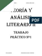 Teoría y Análisis Literario II