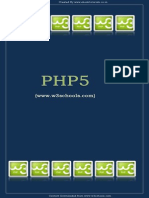 W3schools php tutorial | php | web server.