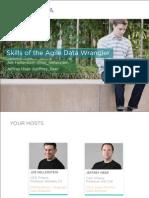 Data Transformation Skills of the Agile Data Wrangler