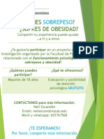 Poster Obesidad