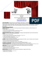 fund  to theatre syllabus fall 2014