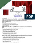 fund  to theatre ii syllabus fall 2014