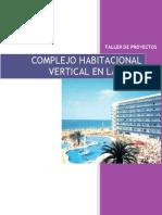 Programa de Complejo Habitacional Vertical en La Playadocx