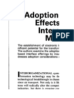 Adoption Correlates and Share Effects of Electronic Data Exchange