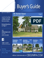Coldwell Banker Olympia Real Estate Buyers Guide August 2nd 2014