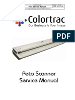 ColorTrac Peto Scanner Service Manual