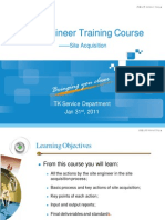 02 Site Engineer Training Course_Site Acquisition