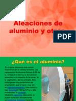 Aleaciones de Aluminio y Otros1