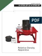 H-3750 - Relative Density