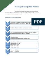 Suspension Analysis using MSC Adams