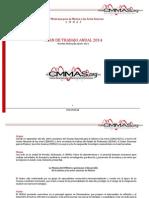 Plan de Trabajo Anual 2014 Cmmas