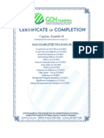 all pesg certifications