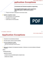 Chap . EJB System and Application Exceptions