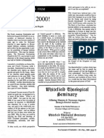 1990 Issue 1 - Goal 2000! - Counsel of Chalcedon