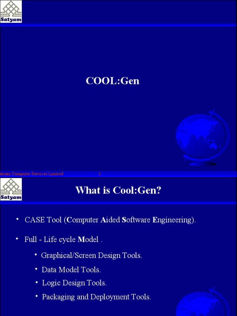 Coolgen Training I Data Model Information Management