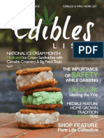 Edibles List July/August Issue