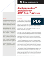 Developing Android Apps for ARM Cortex A8 Cores