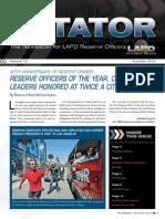 LAPD Reserve Rotator Newsletter Summer 2014_Scribd
