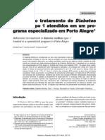 Adesão Ao Tratamento de Diabetes Mellitus Tipo 1