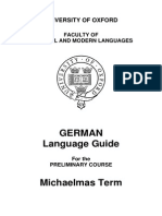 German Language Guide 0910