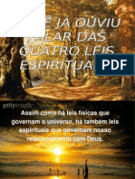 4 Leis Espirituais Ppt