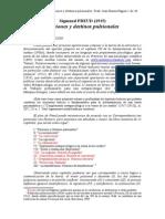 Pulsiones y Destinos Pulsionales